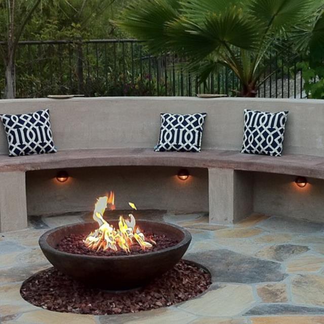 1000mmSteel Dish Bowl Fire Pit Burner