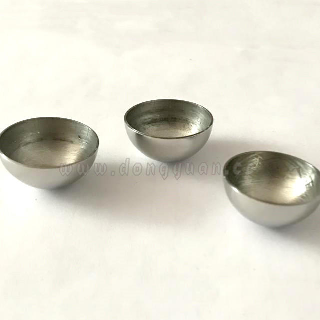 3 inch Stainless Steel Hollow Half Balls for BIG Round Bath Fizzies Molds