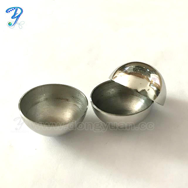 25mm Small Stainless Steel Candle Sphere ,Metal Hemsiphere for Bath Bomb Molds
