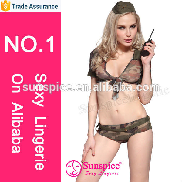 2015 Sunspice hot sale newest design Passion cosplay adult Navy costume