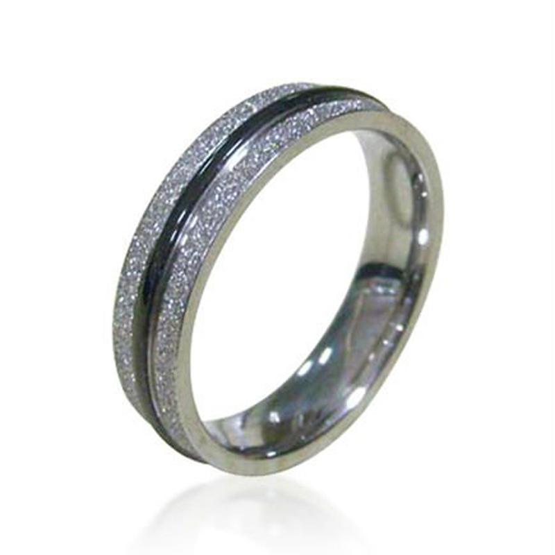 Cheap simple black rubber wedding bands for men