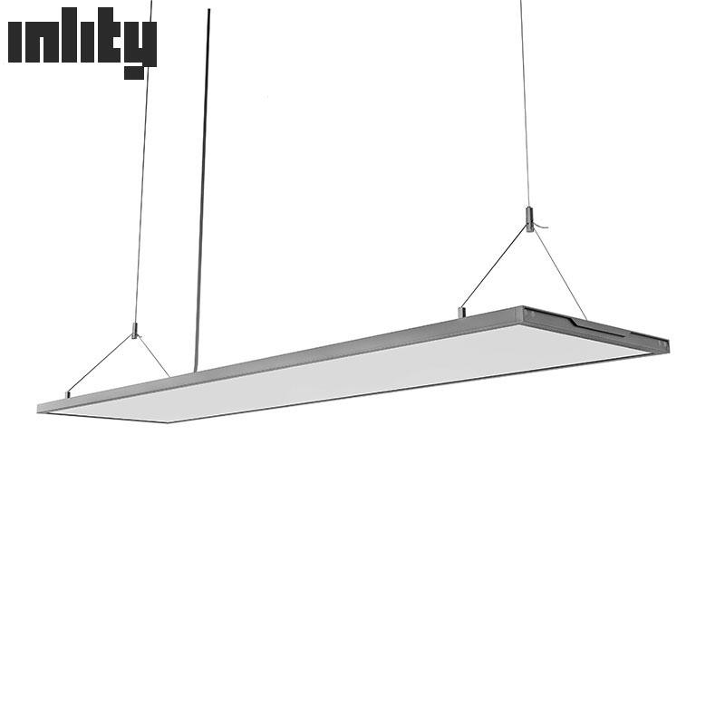 INLITY Designed LED Panel Light 1380*338mm 60W Square ultra Thin Transparent Dimming pendant