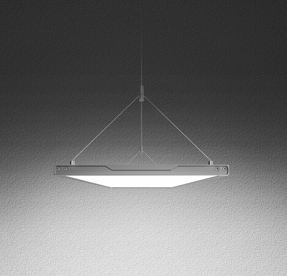 Inlity Flat Lamp Lighting 36w 6000K Square Led Panel Light Hot Selling led pendant ceiling light For the office