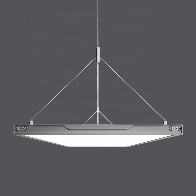 ultra-thin panel light LED Panel Lamp Restaurant Business lamp Led Modern Simple Panel Chandelier Office light