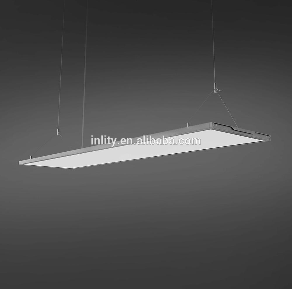 INLITY Slim Designed Square Panel LED Light 1380*338mm ultra Thin Transparent Dimming pendant