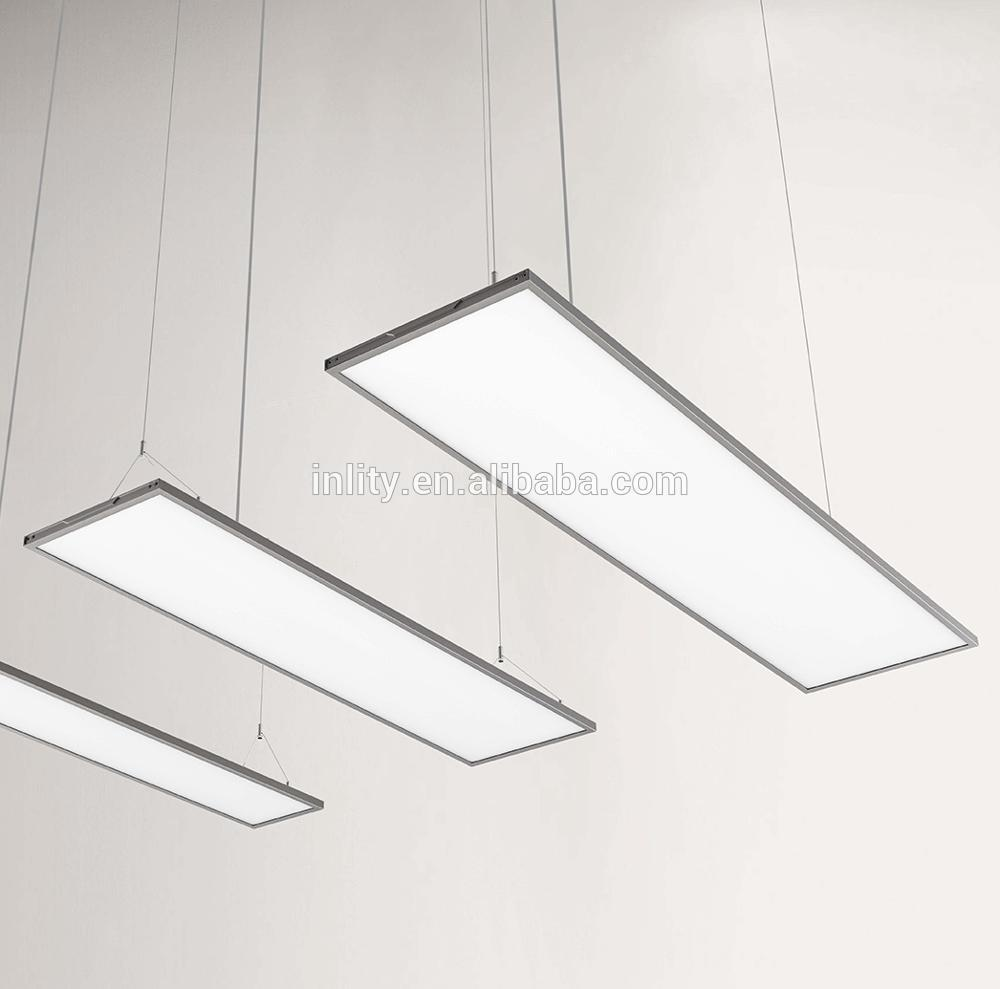 INLITY Designed 1380*338mm 60W Square LED surface Panel Light ultra Thin Transparent Dimming pendant