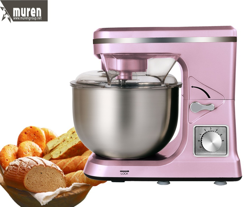 Home kitchen machine for dough kneading& cream maker