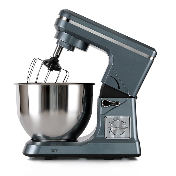 Home real 5l brushed stainless steel bowl 1000w bread mixer