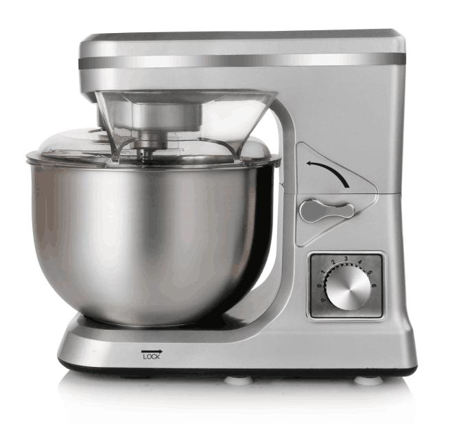 2019 hot selling 1000W stand mixer with 5L stainless steel bowl