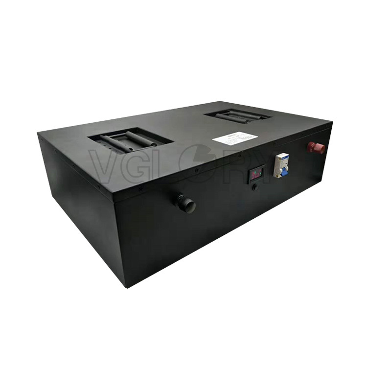 Compacted deep cycle rechargeable 48v 100ah lifepo4 battery pack