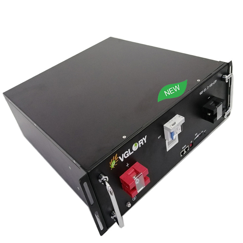 Free maintenance compact 48 volt 48v battery pack