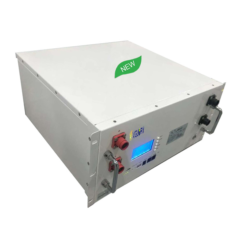 Environmental rechargeable 48v 100ah telecom battery