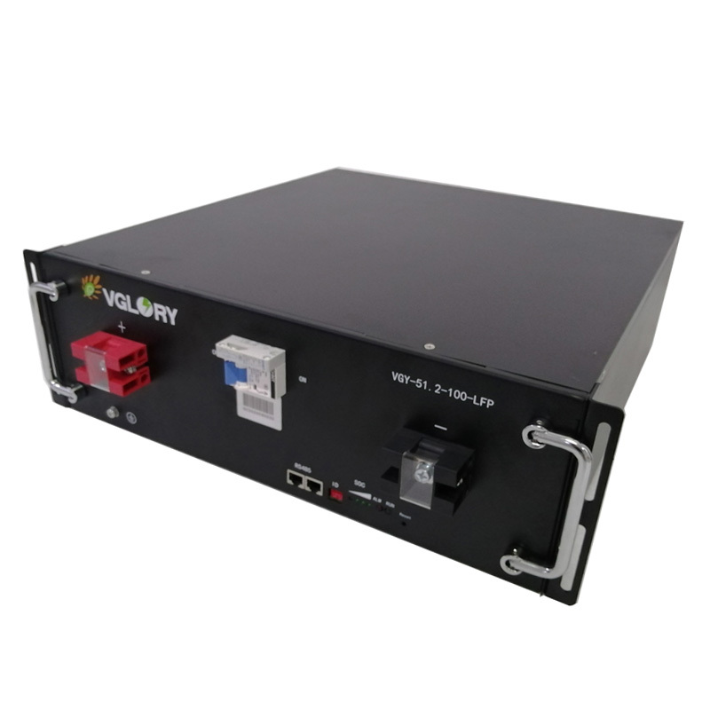 High energy density compact lifepo4 battery pack 48v 100ah