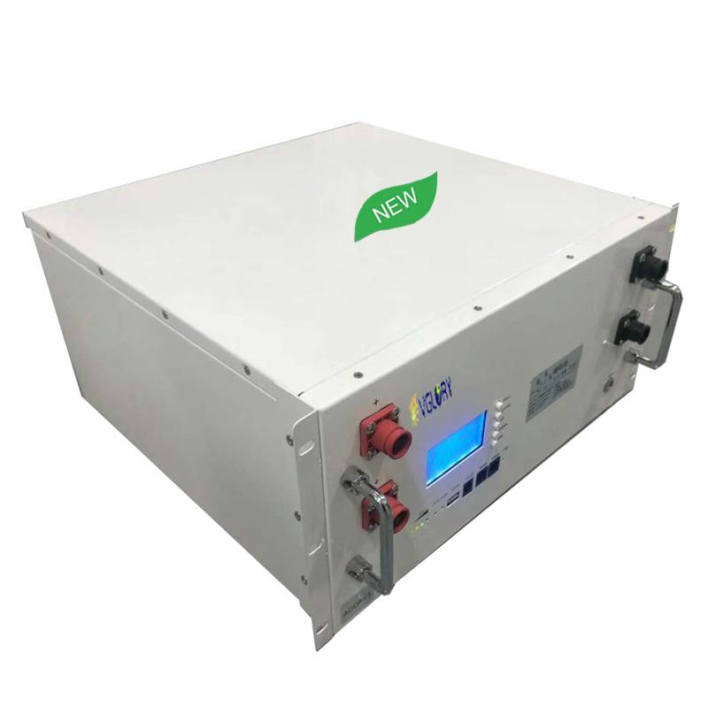 BMS built inside compact 48v li ion battery pack