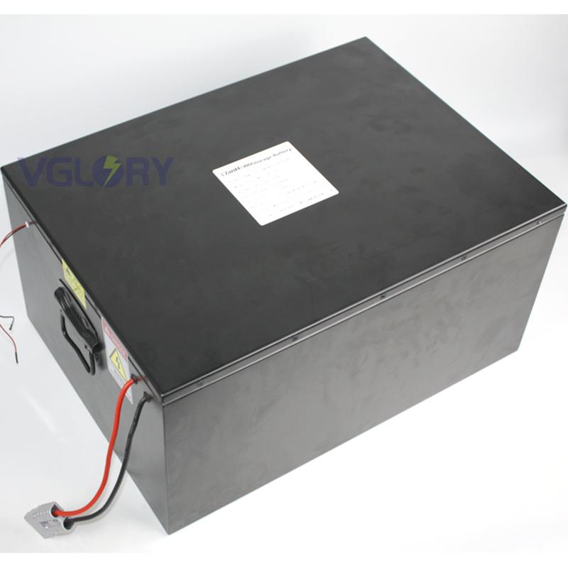 China Factory Deep cycle lifepo4 48v battery pack 12v 125ah