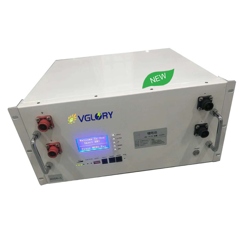 Environmental rechargeable 48v 100ah lithium battery pack