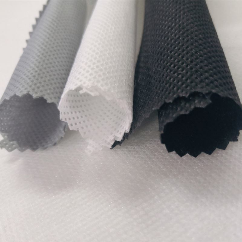 PP spunbond nonwoven fabric 20gsm white color yellow color for sofa interlining