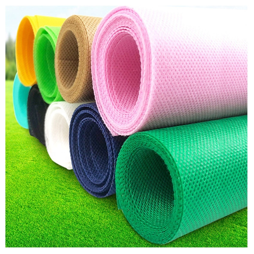 100% pp nonwoven custom made nonwoven fabric 80gsm 100gsm color white with cheap price