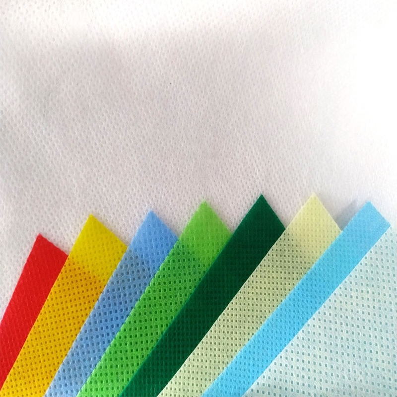 custom made color pp spunbond nonwoven fabric for making bags and furniture