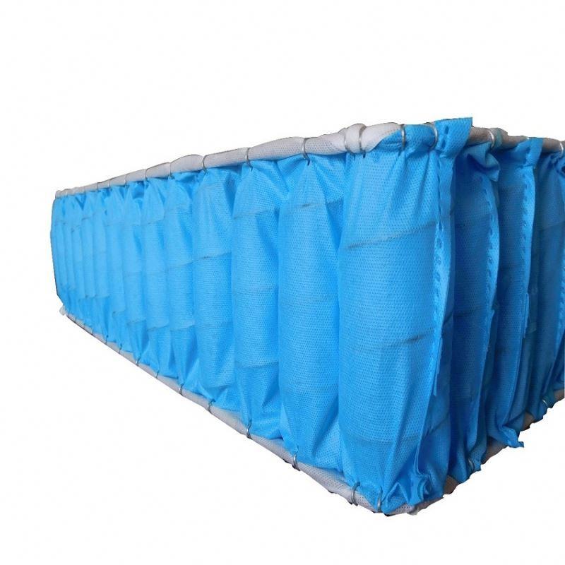 Non-polluting mattress spring package PP spunbond non-woven fabric