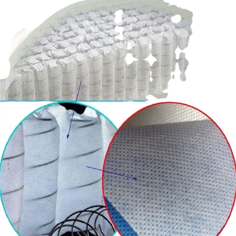 High-end quality mattress spring package PP spunbond non-woven fabric
