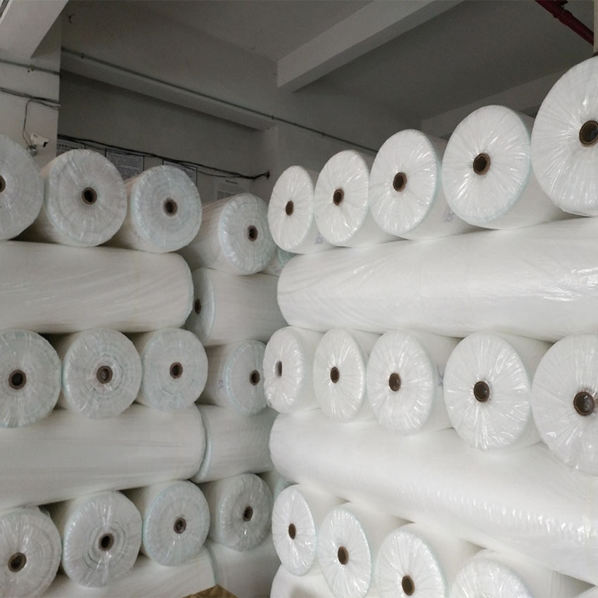 Guangdong supplier pp spunbond nonwoven fabric roll color custom made with cheap price