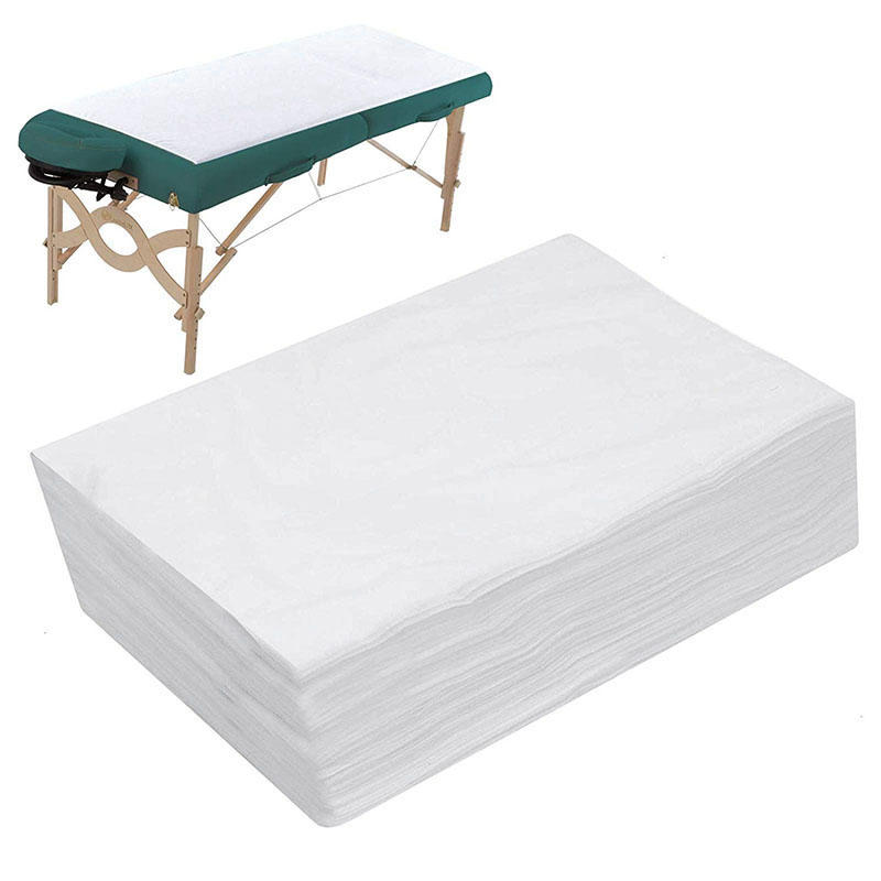 waterproof nonwoven fabric disposable bed sheets for beauty care spunbonded nonwoven fabric