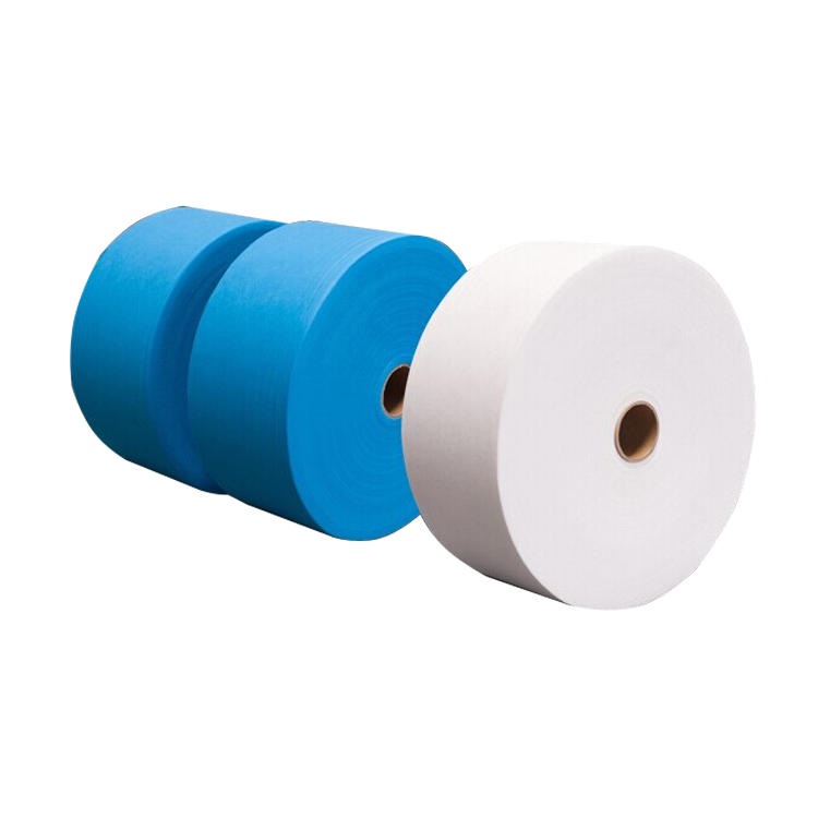 Factory Supply Best 25gsm 17.5/19.5cm 100% PolypropyleneNon Woven Fabric Rolls TNT