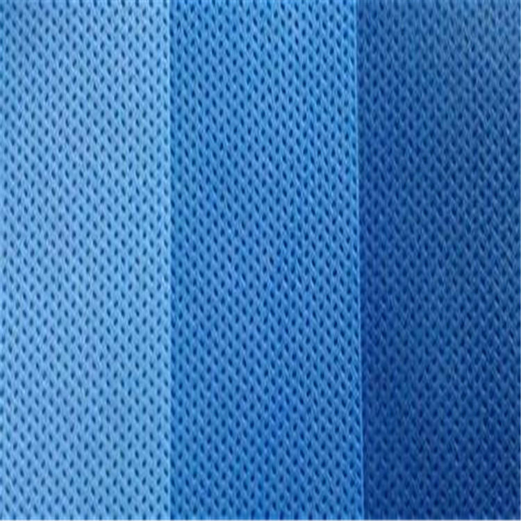 blue color nonwoven fabric SMS medical non woven fabric 25g-40g for disposable overalls