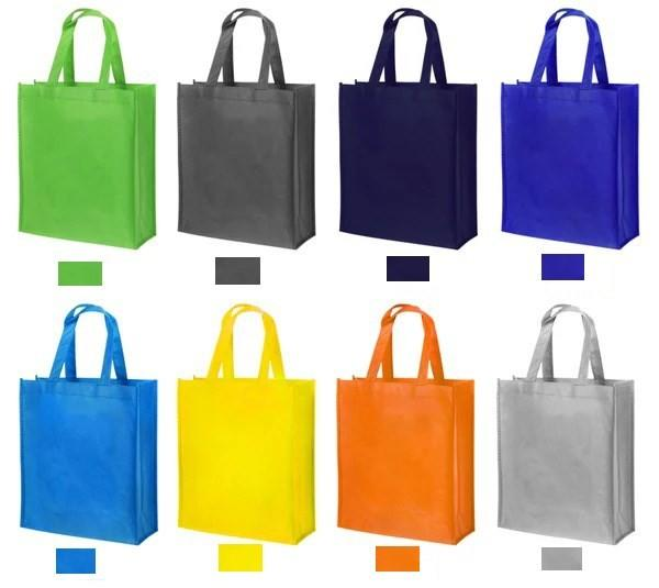 2020 Hot Sale Promotional CustomizedCheap Logo Printed Recycled Handled Non Woven Bag