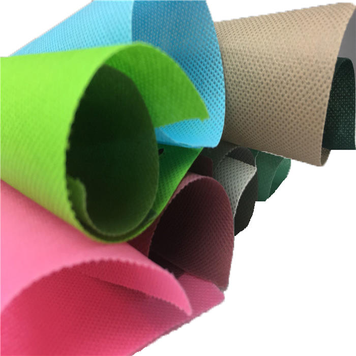 Hot selldifferent color spunbond PP non woven fabric manufacturer