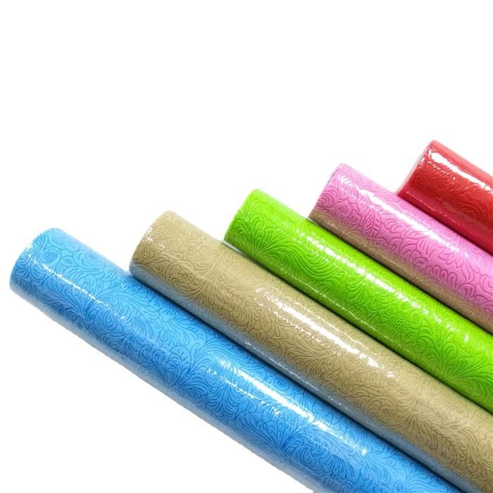 coloful polypropylene spunbond pp non woven fabric roll nonwoven fabric manufacturer