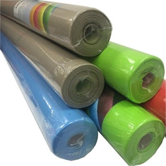 Sunshine factory polypropylene spunbond pp non woven fabric roll colorful nonwoven fabric manufacturer