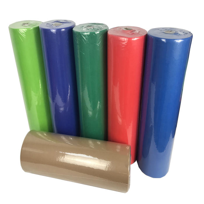 Manufacturer colorful 100% pp hydrophobic biodegradable Non woven polypropylene Fabric In Roll