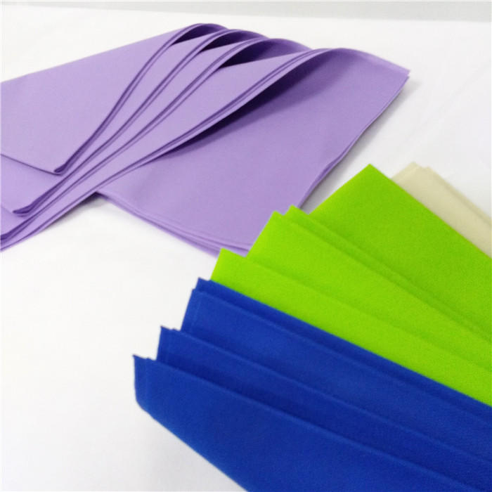 colorful Table cloth use 100%PP spunbond non woven fabric