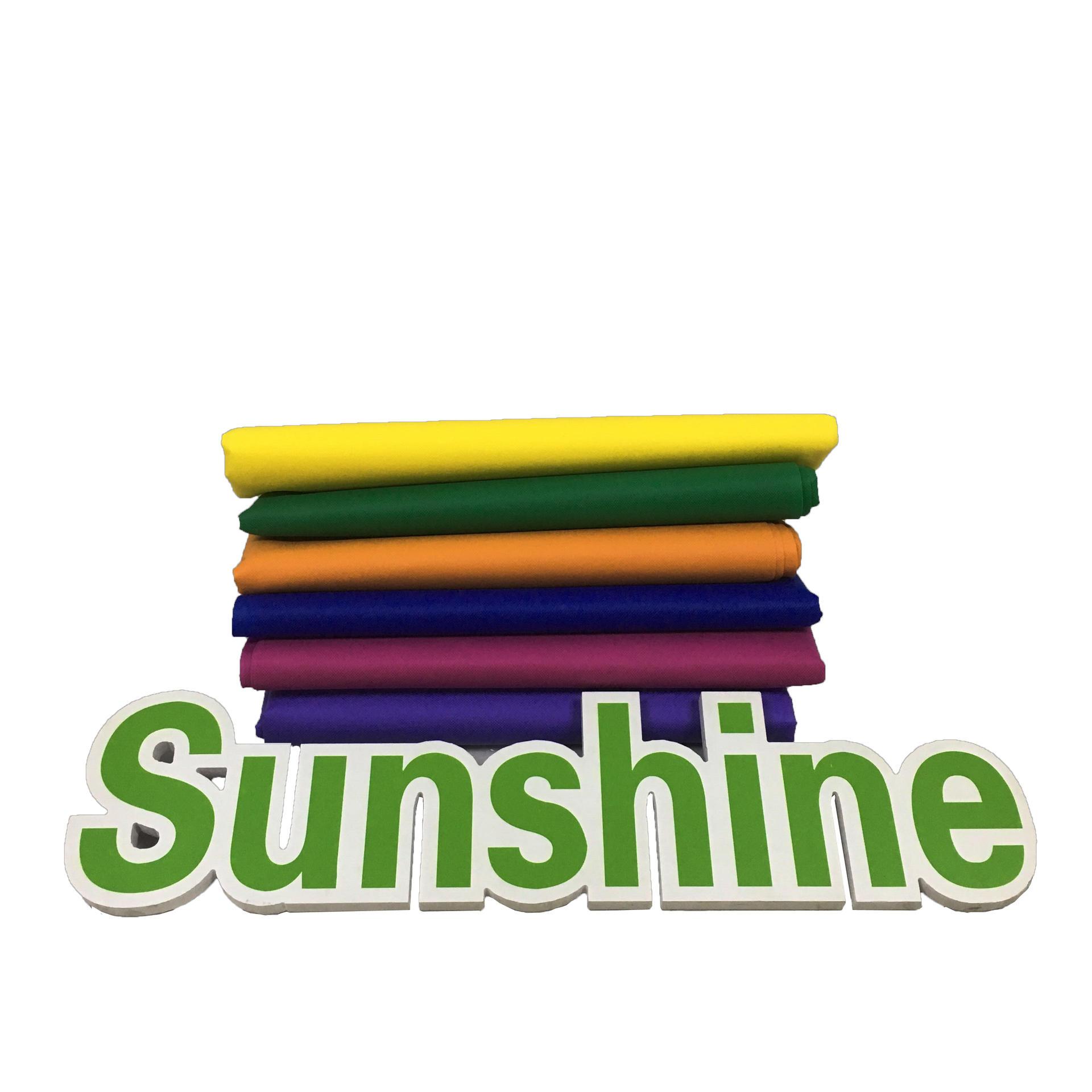 BestPp Spunbond Non Woven Fabric 100% Polypropylene Fabric Non Woven Fabric Colorful