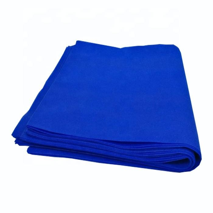 Colorful waterproof oilproof disposable table linens furniture non woven table cloth manufacturer