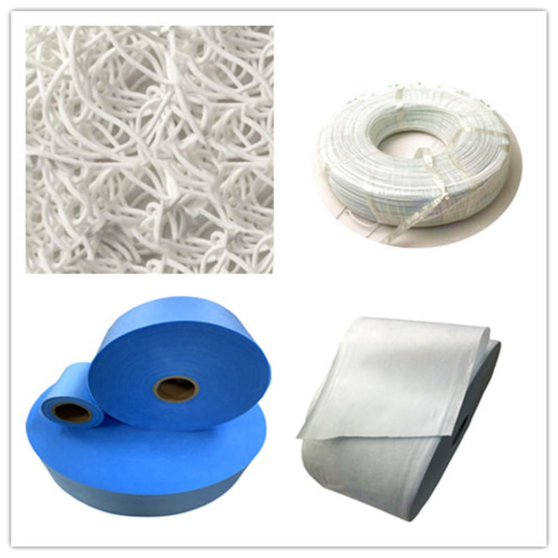 2020 protect material of 100%pp spunbond non woven fabric meltblown ear loop nose wire