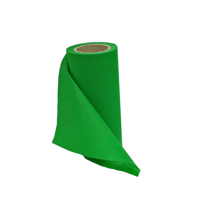Factory price colorful TNT spunbond biodegradable non woven fabric by roll