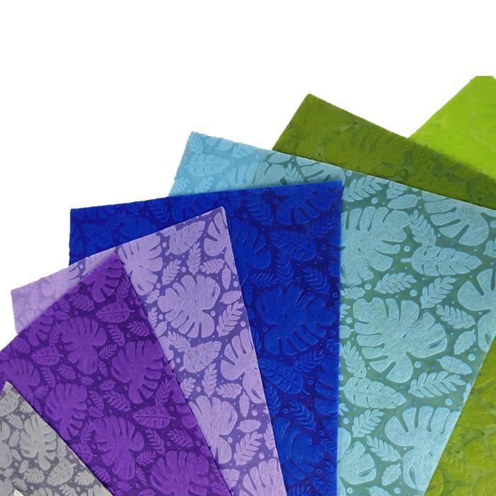 sunshine new design embossed 100%PP spunbond non woven fabric for gift packing