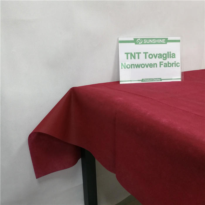 Hot sale Table cloth use TNT spunbond non woven fabric