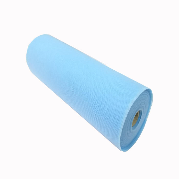 China Whole sale Tela 100% PP Spunbond Non woven paper Disposable fabric