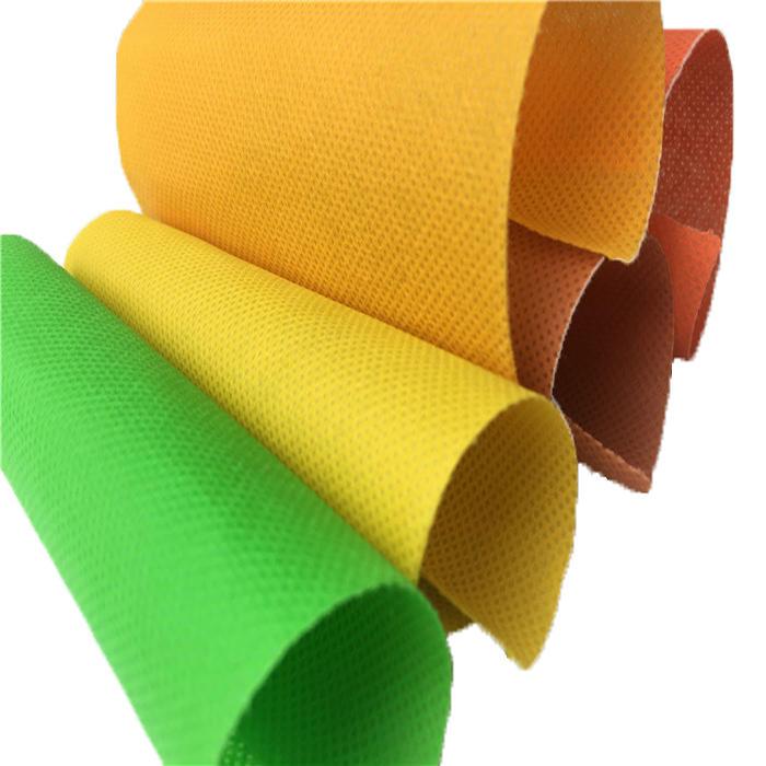 Cheap 100% polypropylene spunbond nonwoven fabric manufacturer in china