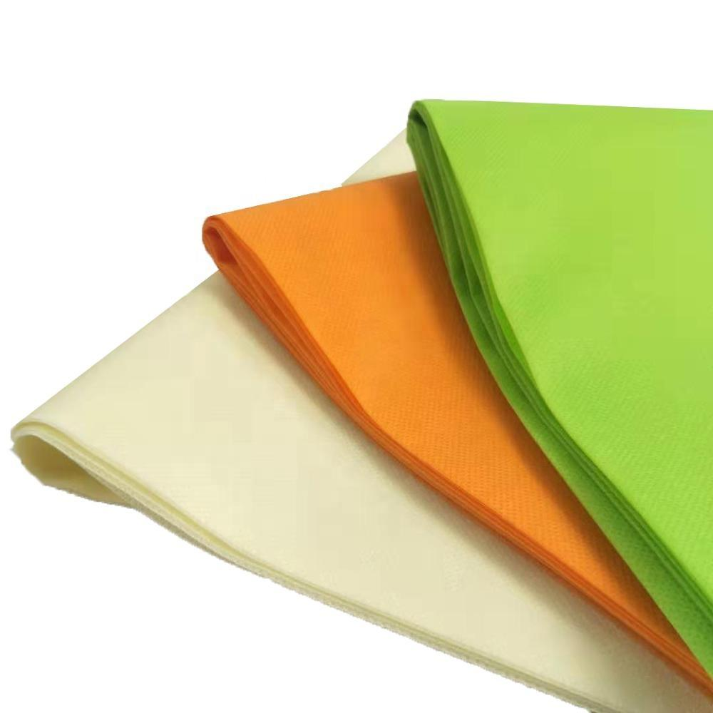 Good price colorful any size pp spunbond nonwoven fabric manufacturer