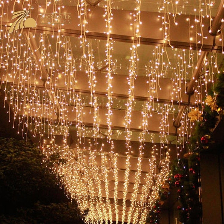 Professional Quality Low Power Consumption IP65 Holiday Decoration 10W LED Icicle Light