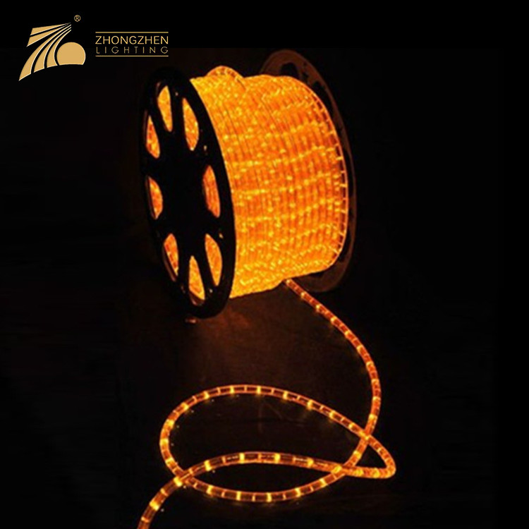 Low Power Consumption 270 Degrees 100M IP65 Waterproof Outdoor Decoration LED Rope Light