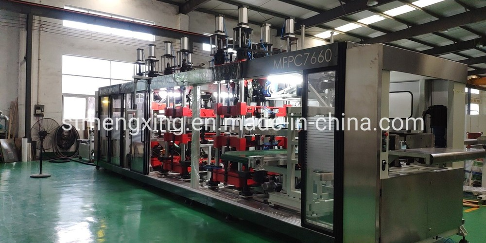 Full Automatic Vacuum Pressure Forming Machine with Punching (MFPC7660)