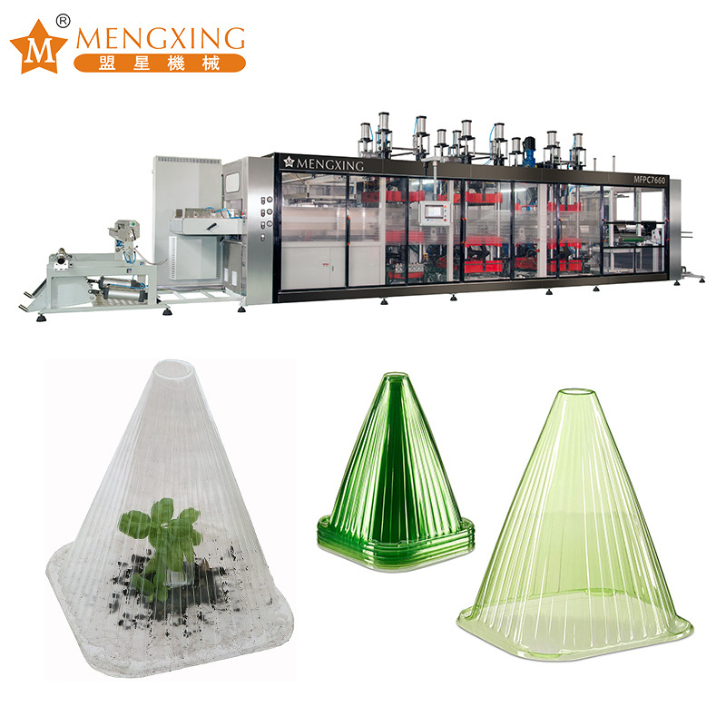 High Survival Tray Seedling Cover Plastic Making Machine Plastic Seed Tray Thermoforming Machine Vacuum Forming Machine