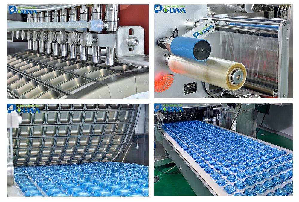 High capacity PVAlaundry water soluble laundry capsules making machine detergent pods packing machine