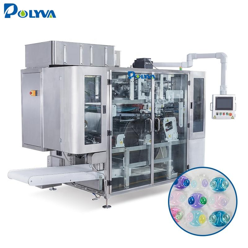Polyva high speed laundry pods packaging machinelaundry detergent washing powder packing machine